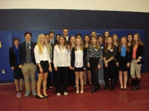 Coe-Brown Northwood Academy FBLA Chapter members attend Fall Leadership workshop at SNHU