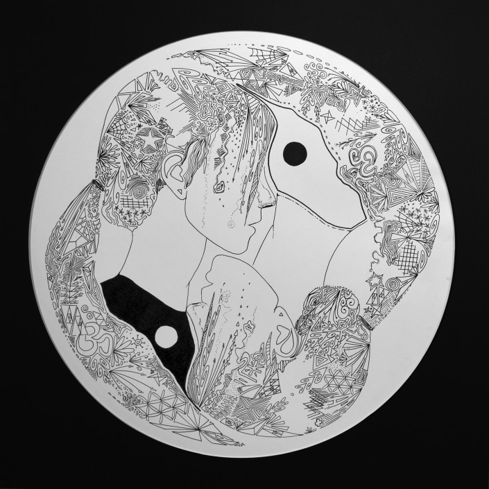Contemplating Contradictions by Abigail MacCallum - Pen & Ink