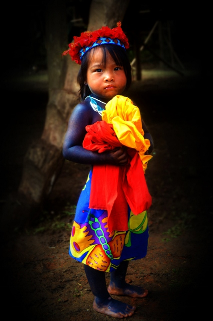 Embera by Alyssa Bussiere - Digital Photo