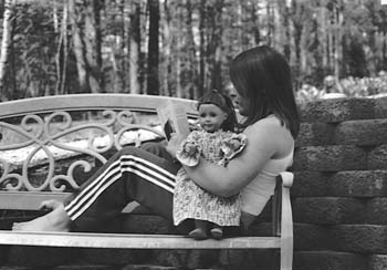 Enjoying the Day by Rayleigh Osborne - Black & White Photograph