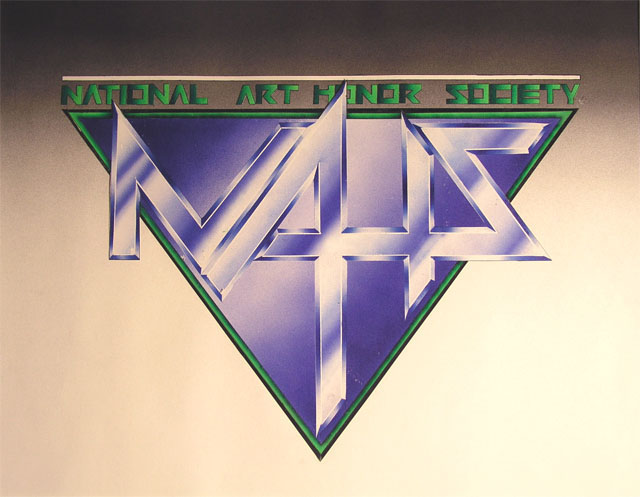 NAHS by Jamie Savage - Airbrush on Paper
