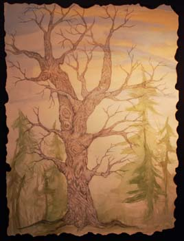 Just One Left by Jenna Moore-Kulp - Pencil & Watercolor on Paper