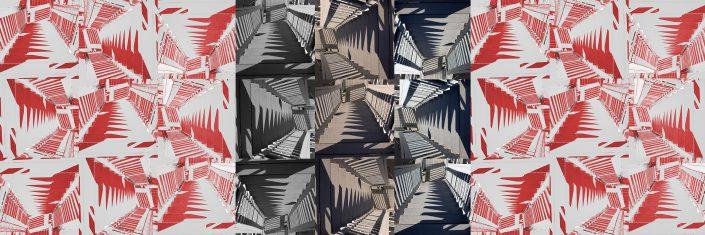Stairway of Mystery by Katherine Martel - Digital Photographs