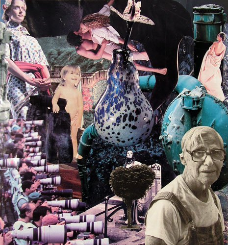 Welcome to the Garden (Original Sin) by Kelley Caskey - Collage