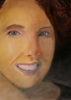 Mallory McCoy by Brittanirose Blair - Pastel on Paper