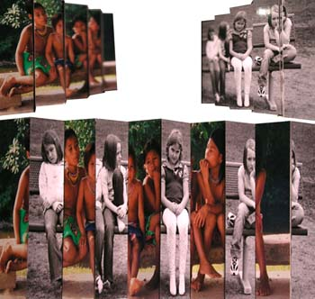 Sitting & Mixing by Blake Frase -Analog and Digital Photographs