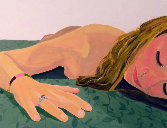 So That I Can Feel by Moira Geary - Gouache on Illustration Board