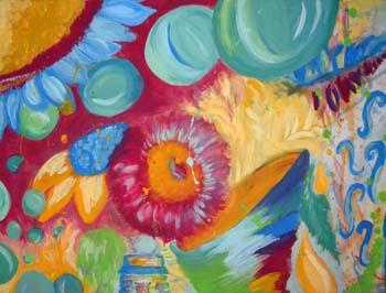 Twisted Innocence by Jessie Locke - Acrylic on Canvas