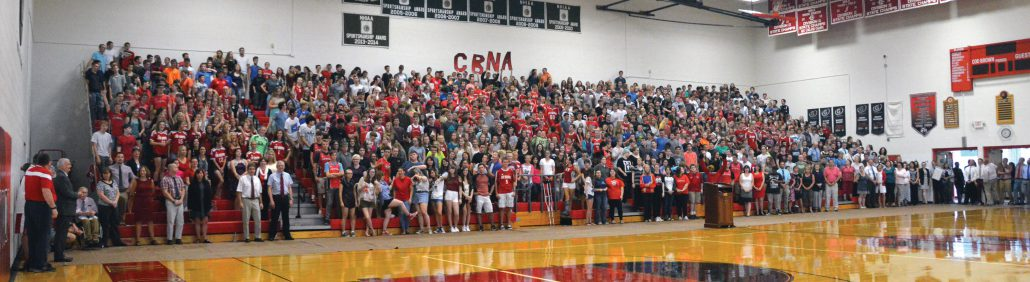 The entire CBNA community celebrates being selected for a spot in Newsweek's top 500 Schools in America list.