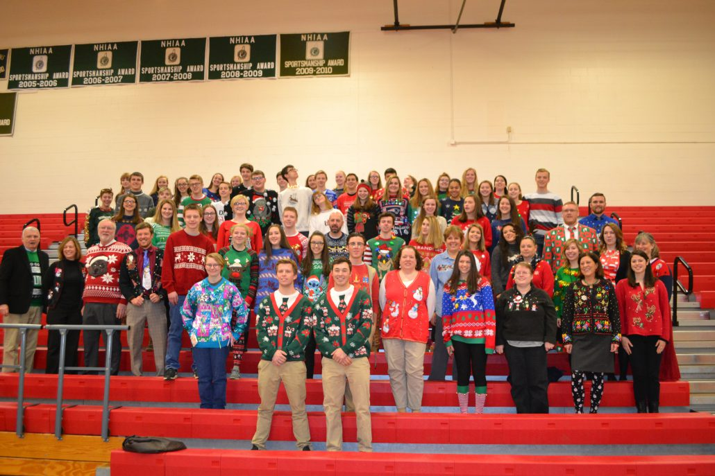 CBNA Ugly Sweater Day 2016 – Coe-Brown Northwood Academy