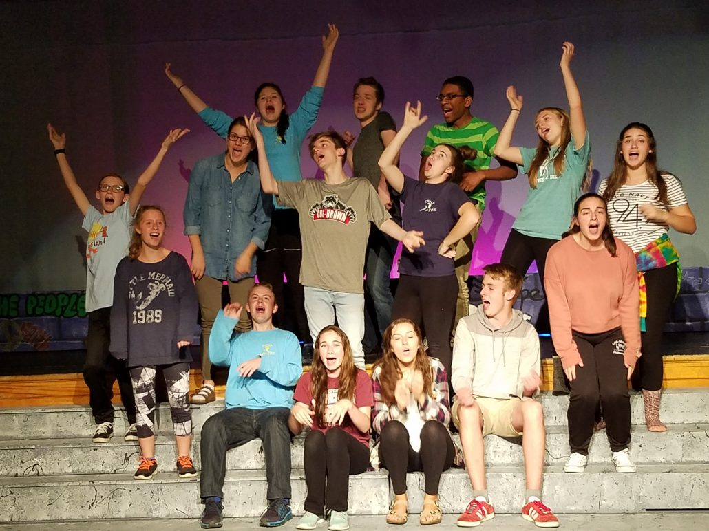 Godspell Coming to CBNA – Coe-Brown Northwood Academy