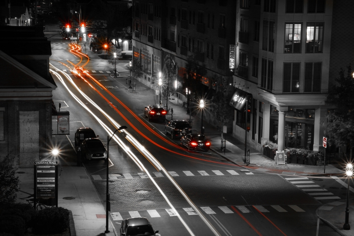 Sarah Doiron Night Ride Digital Photograph