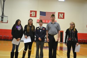 VFW Voices of Democracy Award winners