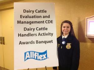 CBNA Graduate Receives National FFA Award