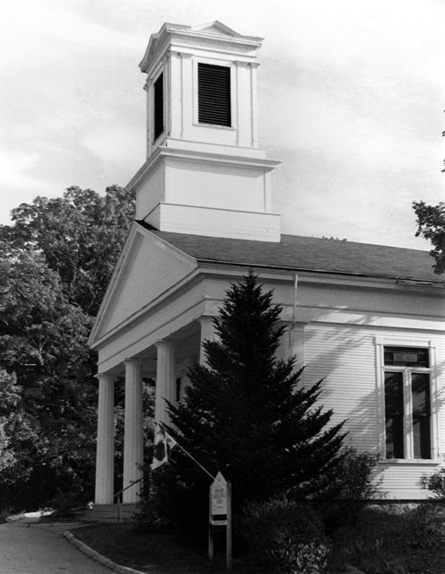 "Congregation Church by Leah Graham - B & W Photograph11"" x 14"""