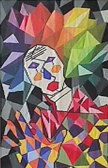 Freak by Elia Heath-Antonelli - Tempera on Paper