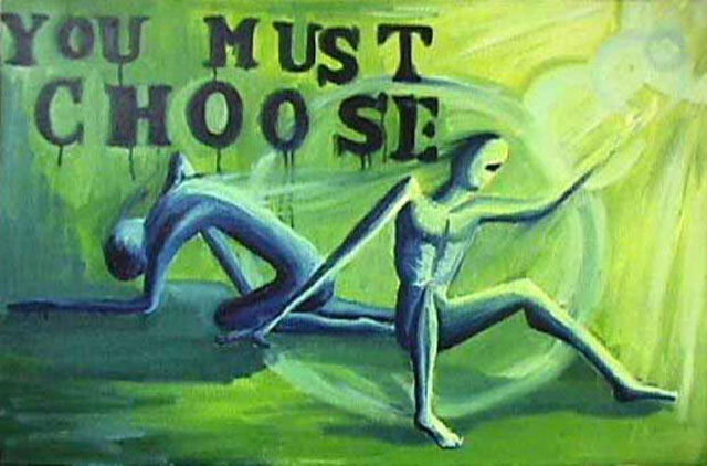 The Choice by Evan Freeman - Oil on Canvas