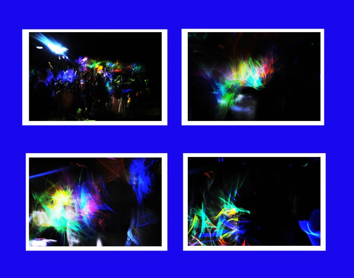 Glow Sticks Digital by David Pierce Butler - Color Photographs