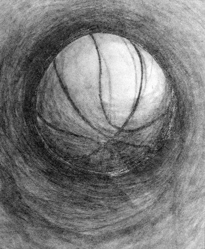 Energy Sketch by Jesse Jacques - Pencil on Paper