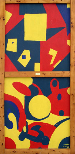 Of Anything by Joshua Freund - Acrylic on Plywood