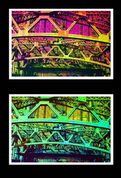 Kaleidoscope by Adriane Moreno - Analog Color Photograph, Digitally Printed
