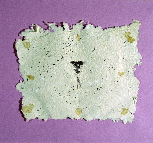 To Basic Art General by Lidija Pauliukonis - Handmade Paper Collage