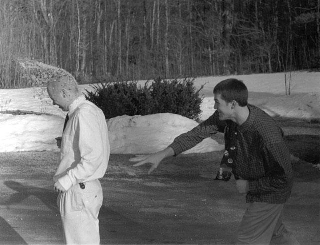 Snow Job by Michael Lemelin - B & W Photograph