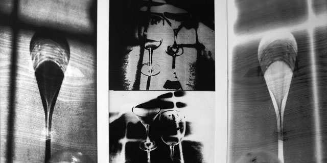 "Positive or Negative by Madeleine Kennett - B & W Photographs 32"" x 17"""