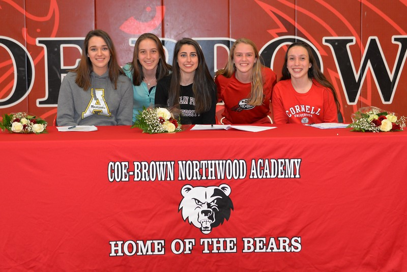 CBNA Athletes Sign for College Scholarships – Coe-Brown ...
