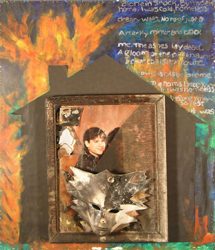 The Burning by Tanya Newton - Mixed Media