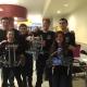 CBNA Robotics Team from left: Alasdair Morrison, Cordelia Norris, Noah Sinnamon, Nick Dyer, Emily Buehne, and Austin Carrier